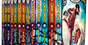 Image of Lemony Snicket books