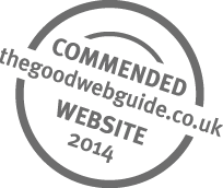 The Good Web Guide Highly Commended Website Award 2014 logo
